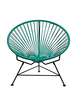 Innit Designs Innit Chair, Turquoise/Black