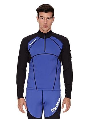 Grifone Camiseta Tovo (Azul Eléctrico / Negro)