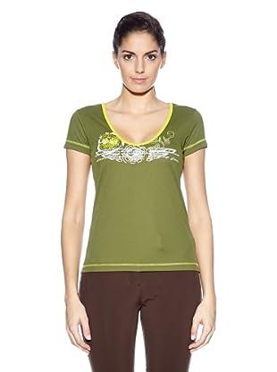 Northland Professional T-Shirt Kuba Ls (Verde)