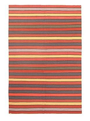 eCarpet Gallery One-of-a-Kind Anatolian Kilim Rug, Orange, 6' 2