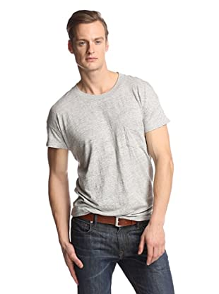 Levi's Made & Crafted Men's Short Sleeve One Pocket Tee (Grey Melee)