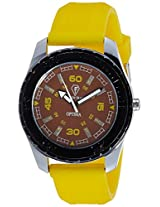 Optima Analog Brown Dial Men's Watch - FT-ANL-2519