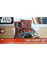Disney Star Wars Ep7 Millennium Falcon Sheet Set, Twin