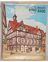 Kibri Ho Scale Train Model Kit Half Timbered Township Building 8400