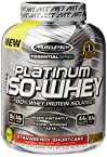 MuscleTech Essential Series Platinum 100% Iso Whey - 3.34 lbs (Strawberry Shortcake)