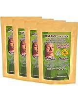 N - Herbals Best Face - Face Pack 100g (Set of 4)