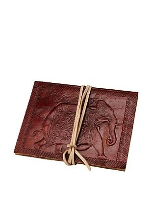 Mela Artisans Reminisce Blank Leather Journal