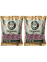 Mother Organic Cow Pea Red, 500g (Pack of 2)