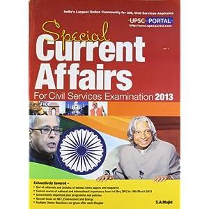 Current Affairs 2013