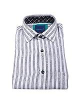 Linen Club Formal Shirt White