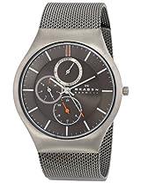 Skagen Analog Brown Dial Men's Watch - SKW6036