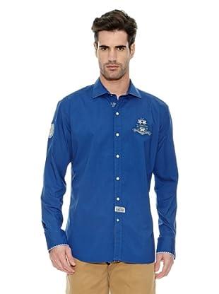 La Martina Camisa Hombre (Azul Eléctrico)
