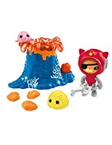 Fisher-Price Octonauts Kwazii & the Volcano Rescue Playset