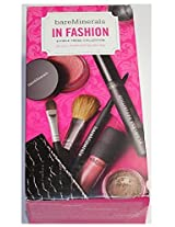 Bare Minerals In Fashion 8 Piece Trend Collection For Eyes, Cheeks And Lips Plus Bag
