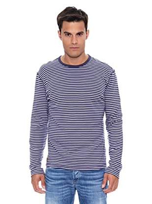 Pepe Jeans London Camiseta Purley (Azul Índigo)