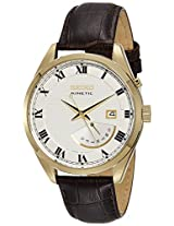 Seiko Analog White Dial Men's Watch - SRN074P1