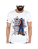 Marvel Men's Synthetic T-Shirt