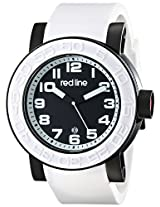 red line Men's RL-50051-BB-01-WAS Xlerator Analog Display Japanese Quartz White Watch