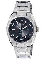 Citizen Eco-Drive Analog Black Dial Men's Watch BM6901-55E