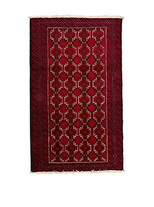 QURAMA Teppich Persian Ferdouse rot/schwarz