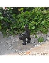 Miniature Fairy Garden Black Cat
