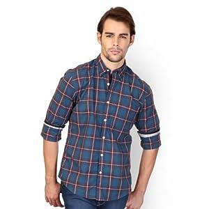 Peter England Casual Check Shirt