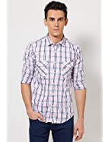 Pink/Blue Casual Shirt Basics