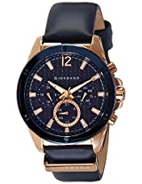 Giordano Analog Blue Dial Men's Watch - 1731-05