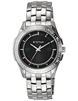 Titan Youth Analog Black Dial Men's Watch - 1587SM02