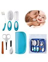 6Pcs Baby Kid Grooming Medical Nursing Nail Clipper Comb Toothbrush Suit Set