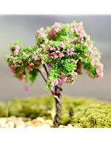 FD2191 Miniature Dollouse Garden Craft Fairy Bonsai Plant Decor ~ Babysbreath~