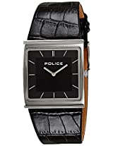 Police Analogue Black Dial  Unisex Watch - PL13678BS02J