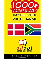 1000+ Danish - Zulu, Zulu - Danish Vocabulary