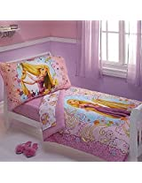 Disney Rapunzel 4 Piece Toddler Set (Purple)