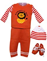 Amity Anchor Kids Warm Wear Set (AA14-15238_6-12 Months_Orange)
