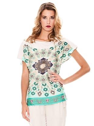 Pòete Camiseta Juana (Verde)
