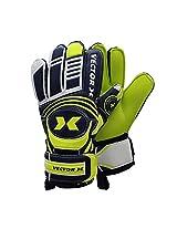 Vector X Advance Goalkeeping Gloves, Size 9 (Yellow/Black)