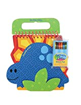 Stephen Joseph Shaped Sketch Pad-Dino