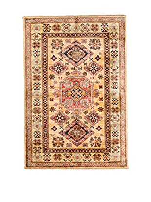 RugSense Alfombra Kazak Super Marrón/Multicolor