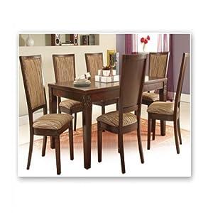 Six Seater Sheesham Wood Dining Set
