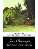 Studies in nature and literature
