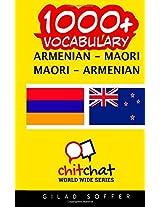 1000+ Armenian - Maori, Maori - Armenian Vocabulary