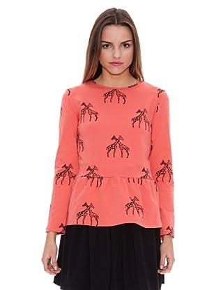 Pepa Loves Camiseta Carola (Coral)