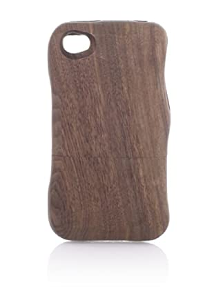 Real Wood iPhone 4/4S Case, Flat Head Knife, Walnut
