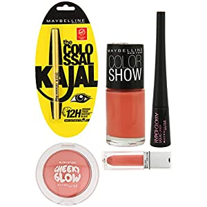 Mnyfecrl-01 Coral Makeup Kit Maybelline