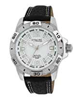 Q&Q Attractive Analog White Dial Men's Watch - DA64J301Y