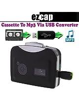 Gadget Hero's EZCAP Walkman Audio Cassette Tape Player to MP3 Converter Via USB