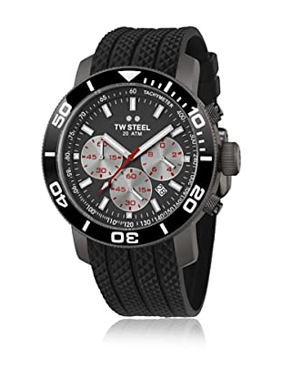 TW STEEL Reloj con movimiento Miyota TW705 Negro