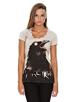 Firetrap Camiseta Petunia (Beige)
