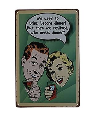 LO+DEMODA Wandbild Drink